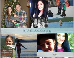 Laurie Davis Family 2014