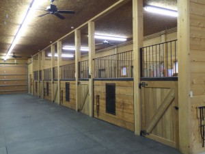 Avalanche Ranch Horse Stalls