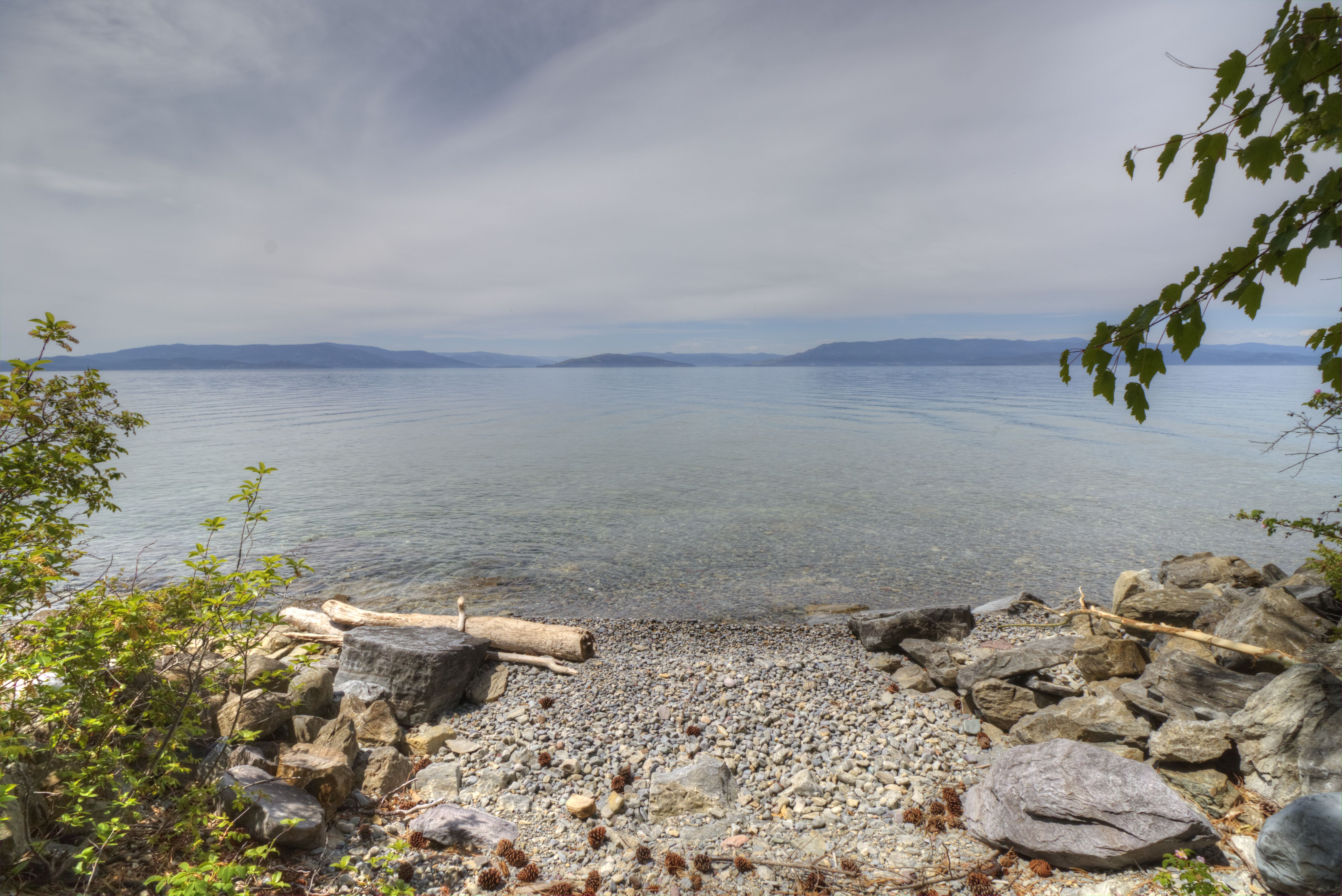 Boat Access onto Flathead Lake